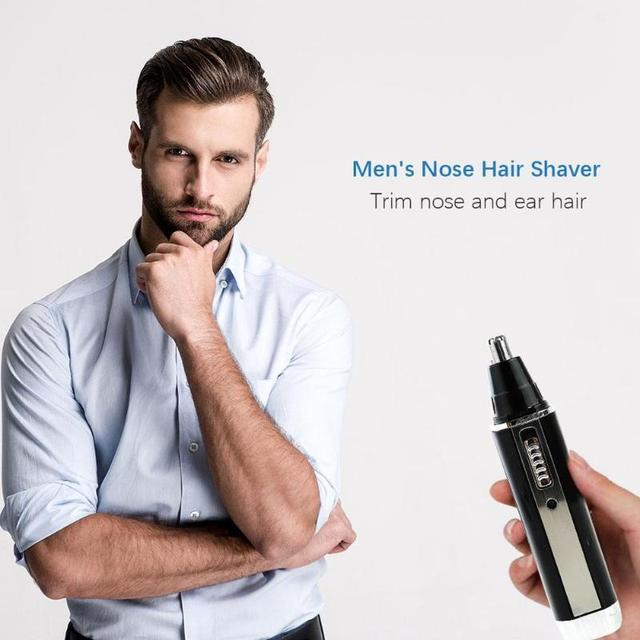 4 in 1 Nose Hair Trimmer Epilator Rechargeable Eyebrow Beard Shaver Razor Kit Face Care Tools 2