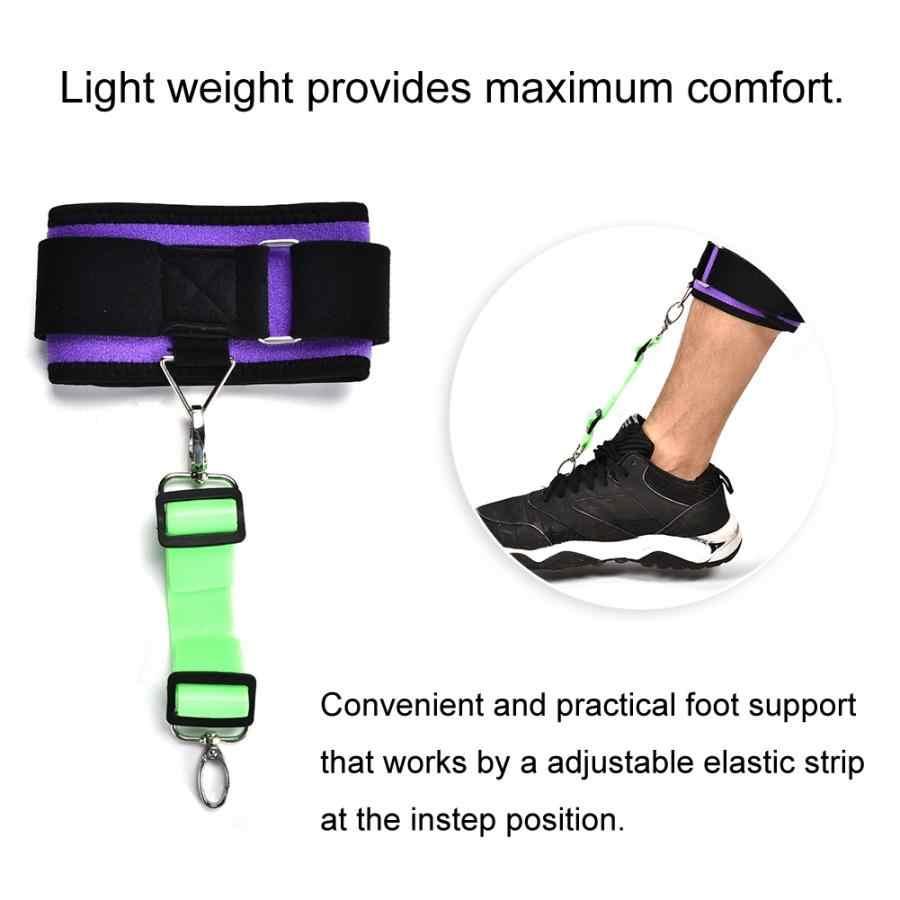 下垂足姿勢コレクターアジャスタブル足首日ブレースサポート足底筋膜炎ブレースサポート l
