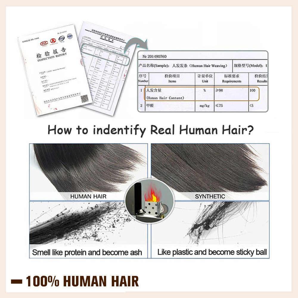 Brilho completo ombre cor 40 pçs 100g 100% real cabelo humano balayage fita de cabelo em extensões de cabelo loira para a mulher máquina feita remy