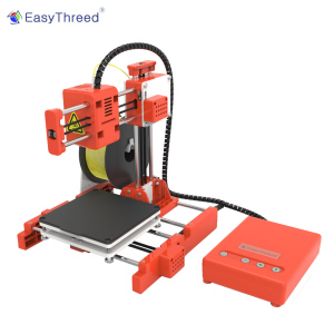 EasyThreed Mini Desktop Children 3D Printer 100*100*100mm Print Size High Precision Mute Printing with TF Card PLA Filament(China)