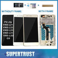 Avec/Sans Cadre D'origine Pour Huawei G9 P9 Lite VNS-L21 VNS-L22 VNS-L23 VNS-L31 écran LCD + Écran Tactile Capteur De Verre + kit
