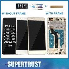 Para Huawei G9 P9 Lite VNS-L21 VNS-L22 VNS-L23 VNS-L31 pantalla LCD + Sensor de pantalla táctil digitalizador de vidrio con/sin marco + kit