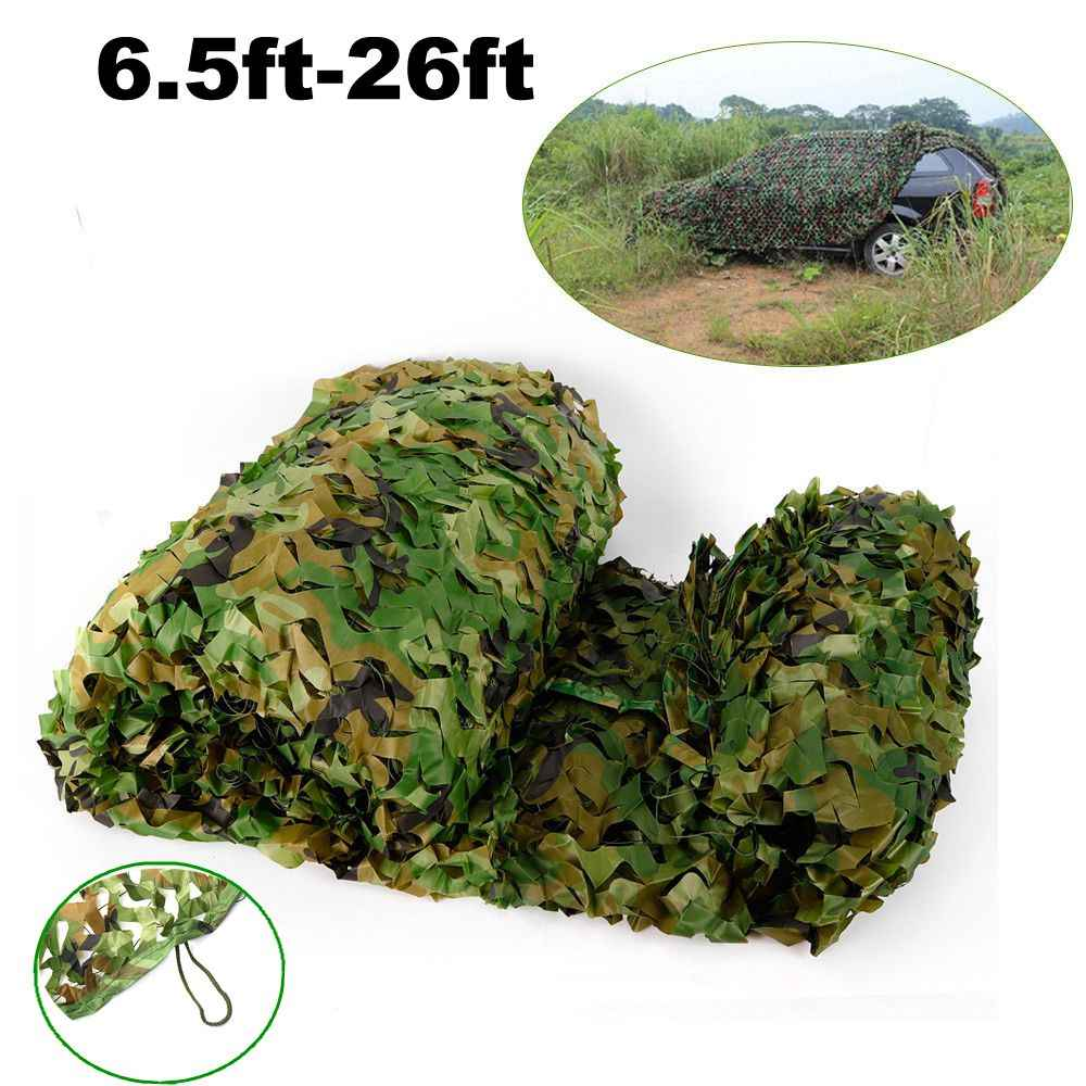 Jungle Digital Camouflage Net Camoflage Netting Outdoor Hunting Camping Sun