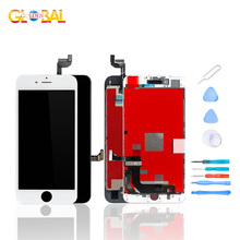 100% AAA+ Quality Display For iPhone 7 Plus 8 6 6S LCD Touch Replacement Screen Digitizer Assembly LCD Screen i phone 7G 7p 6 S 100% new mobile phone lcd aaa quality for huawei honor 6 lcd display touch screen with digitizer assembly free shipping