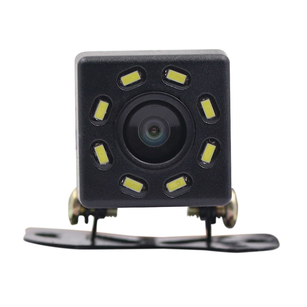 8 Lamp Webcam Forward-Looking Rear View Plug-Supplementary Lighting For Night Vision Car Mounted Reversing Car Truck Reversing V