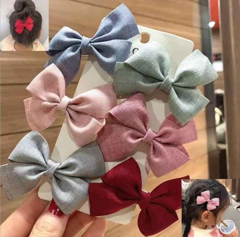 6 Pcs/set Baru Wanita Colorful Busur Jepit Rambut Gadis Indah Rambut Klip Rambut Dasi Tali Hiasan Kepala Korea Aksesoris Rambut HairgripsJ128