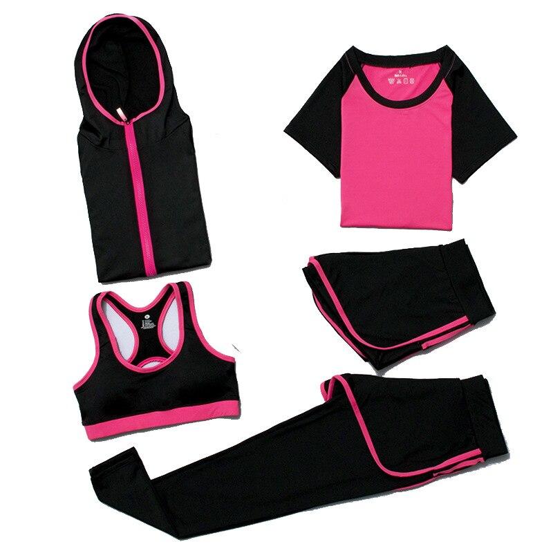Traje de mujer monos corriendo sin espalda gimnasio Running Sets wear Leggings apretado chándal ropa de entrenamiento - 5