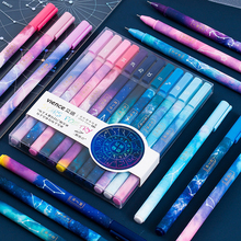 Cute Twelve Constellations Zodiac Sign Horoscope Astrology Pendant 0.5mm Gel Pen for Office School Stationery Supplies