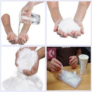 Image 5 - Magia neve montanha modelagem slime macio polímero argila encantos enchimento adição para lodo lama partículas acessórios antistress brinquedo