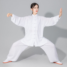 USHINE Hotsale Taichi uniform cotton 6 color high quality Wushu kungfu clothing for children adult martial arts WingChun suit high quality kung fu clothing tai chi suit embroidery dragon martial arts wushu changquan performance uniform for adult children