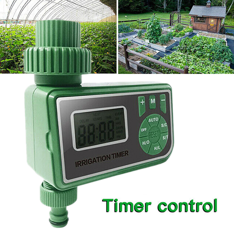 Automatic Water Tap Timer Digital LCD Irrigation Controller Outdoor Garden Sprinkler For Home Gardening Public Green Space
