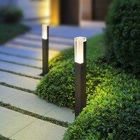 Modern Garden Lamp Outdoor Waterproof Lawn Lamp Landscape Lamps Aluminum Villa Lawn Lamp Courtyard Light Fixture RF65