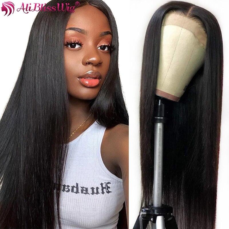 13x6 düz dantel ön İnsan saç peruk siyah kadınlar için brezilyalı Remy 360 sırma ön peruk ile bebek saç dantel ön peruk 150%