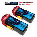 Dxf Lipo 4S Batterij Hard Case 14.8V 8000 Mah 110C 220C Akku Voor 1:8 1:10 Rc Auto E buggy Truggy Truck Boot Helicopter Quadcopter