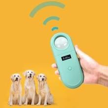 Handheld Protable Pet Chip Reader Electronic Ear Tag Chip Scanner Animal Microchip Recognition Reader for Cat Dog Pet