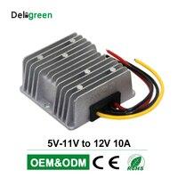 5V 11V to 12V 10A DC DC Converter wide input volatge Regulator Car Step up Reducer Buck converter power supply