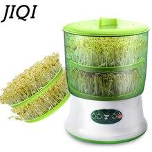 Termostato para hacer brotes de soja, cubo para crecimiento de plantas verdes y vegetales, máquina germinadora de brotes eléctrica automática, 110V/220V