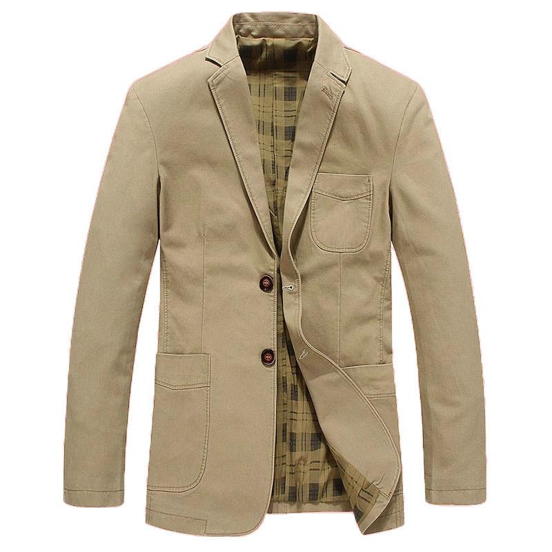 Fashion Blazers Suit Jacket Male Casual Blazer Masculino Plus Size M-4XL Brand Mens Suit Jacket Masculin Blazers Homme