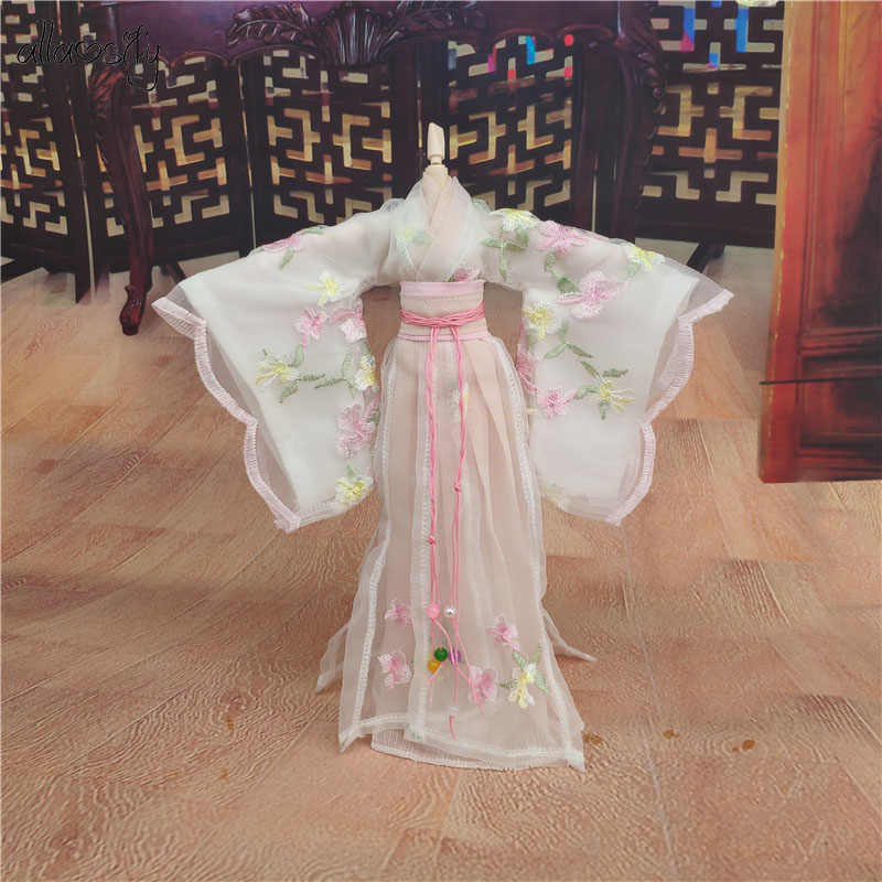 Allaosify 1/6 Chinese Style Costume BJD Clothes Buy BJD Clothes And Give Away A $6 Wig Quality Assurance Free Shipping