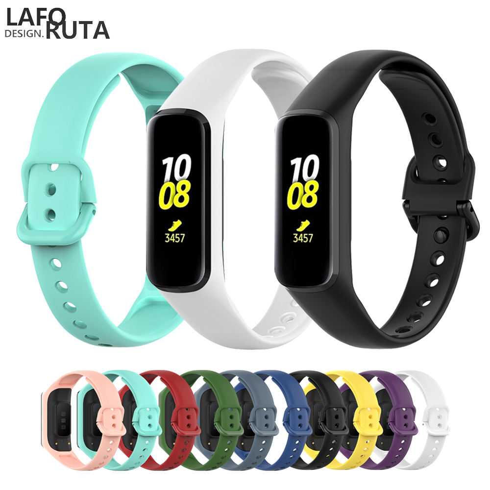 Laforuta Silicone Band For Galaxy Fit-e Strap Rubber Sport Wrist Band For Samsung R375 Loop Women Men Fitness Bracelet 2019