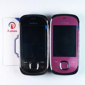 Image 2 - ตกแต่งใหม่ Nokia 7230 2G GSM ปลดล็อกโทรศัพท์มือถือและภาษาอังกฤษรัสเซียฮีบรูแป้นพิมพ์ภาษาอาหรับ