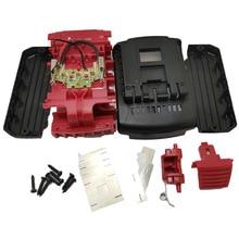 Güç aracı pil plastik kabuk değiştirme için Bosch 18V kapağı (İçinde hayır hücreleri) BAT618