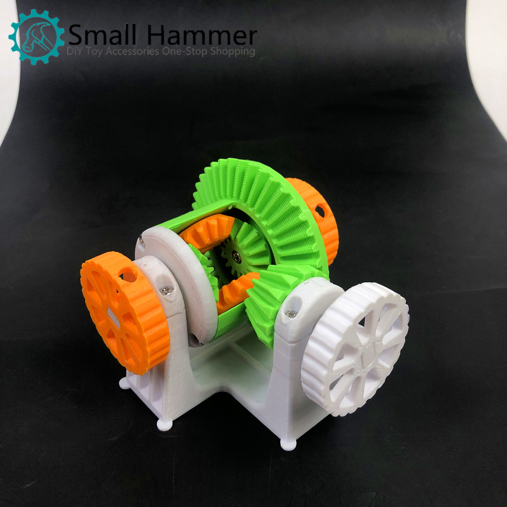Manual Simple Edition Automobile Differential 3D Printing Simulation Model Creativity Funny Gift Decoration Teaching
