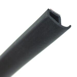 Image 4 - Joints détanchéité en caoutchouc pour porte de voiture, Type P, bande détanchéité Anti poussière, isolation phonique
