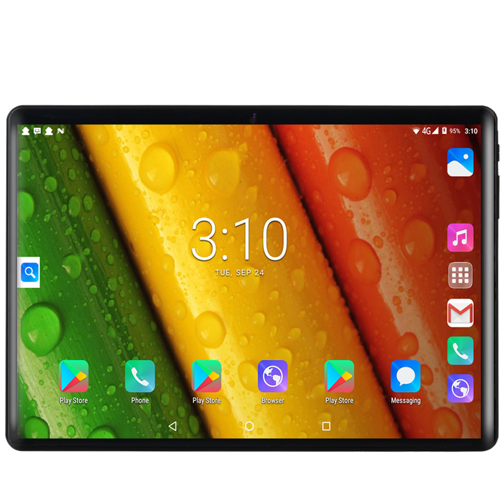 Cheap Price New 10 Inch Phone Call SIM Card Octa Core FM WiFi Tablet Pc Android 8.0 WIFI Bluetooth 4GB+64GB IPS LCD Display