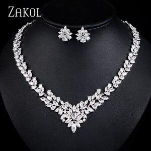 ZAKOL Luxury Jewelry Set Flowe