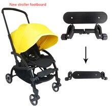 Baby Carriage Footboard for Babyzen Yoyo 90% Stroller Foot Rest Portable Pedal Feetboard Baby Stroller Accessories люлька комплект люльки для новорожденного babyzen newborn pack black для yoyo