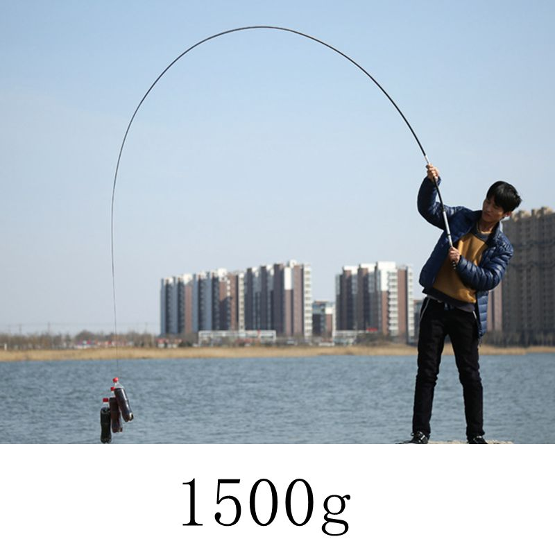 2019 NEW High Quality Ultra Light Hard  white Telescopic Fishing Rod Carbon Fiber Hand Pole for Carp Fishing Rod  VBONI