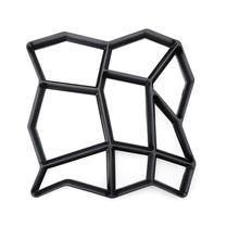 Садовая Пластиковая форма для изготовления дорожек, сделай сам, ручная тротуарная многоразовая плитка, кирпич, камень, дорога, бетонные формы, садовая дорожка, тротуарная форма