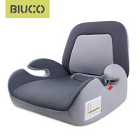 BIUCO Car Seat Booster Seat With ISOFIX Connector Child Car Safety Seats Increased Seat Pad Fits For Kids 3 12 Years Old
