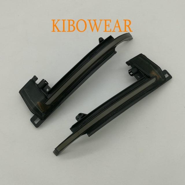 KIBOWEAR Dynamic Blinker Mirror Light for Audi A3 8P A4 A5 B8 Q3 A6 C6 4F S6 LED Turn Signal Side Indicator S4 S5 S6 A8 D3 8K S8