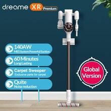 Dreame XR Premium aspirateur sans fil Portable 22Kpa Cyclone filtre tout en un dépoussiéreur tapis balayeuse