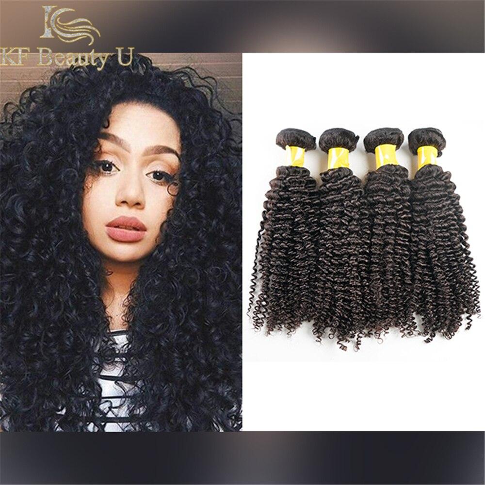 30 polegadas pacotes de cabelo indiano profunda encaracolado tecer cabelo humano 3/4 pçs remy extensões de cabelo para preto