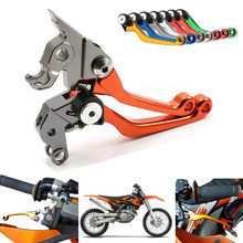 125 EXC/SX 2005 2006 2007 2008 Magura Motorcycle Accessories Long CNC Pivot Brake Ctutch Levers Replacement Dirt Motors For KTM