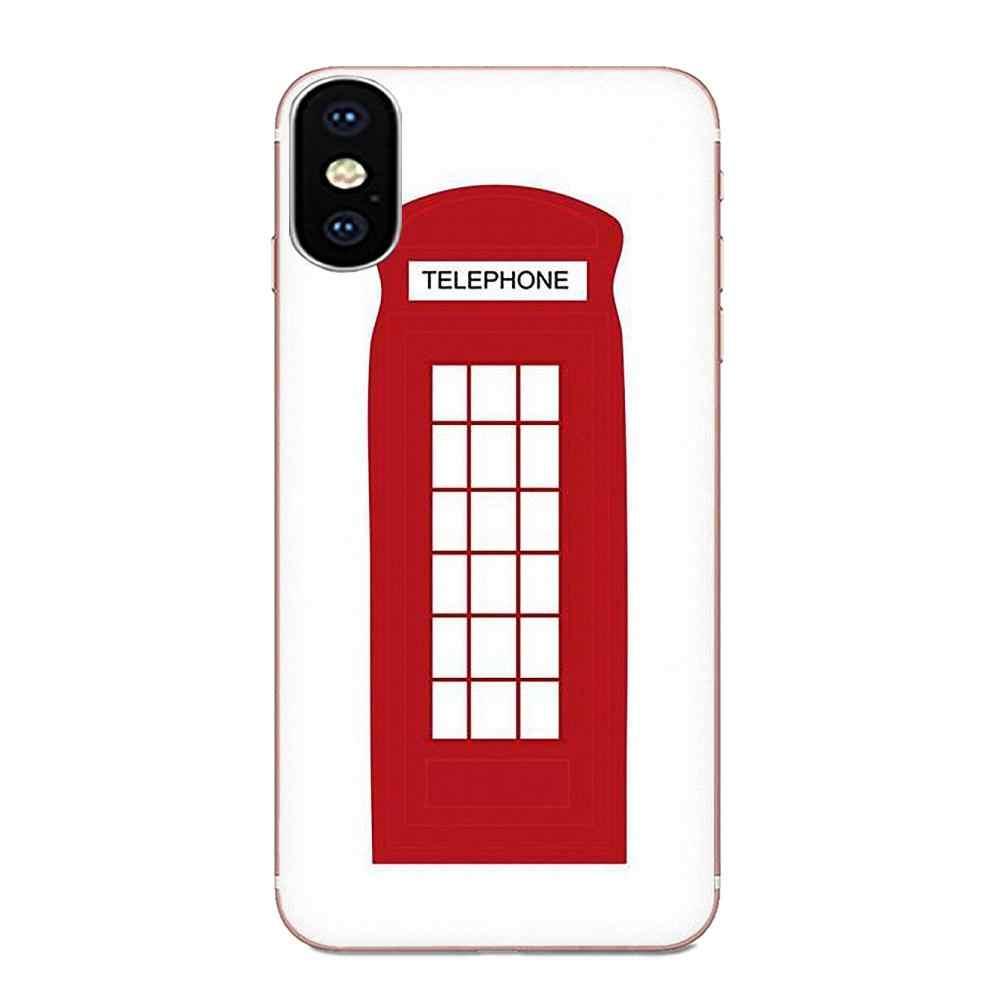 Londres Bus angleterre téléphone couvre Ultra mince pour Huawei Honor Mate 7 7A 8 9 10 20 V8 V9 V10 G Lite jouer Mini Pro P Smart