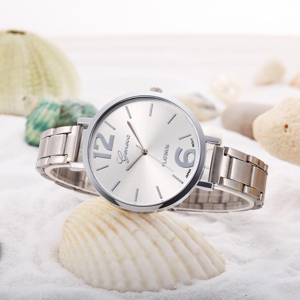 Hot Women Watches Stainless Steel Analog Quartz Wrist Watch Relogio Feminino Women Watches Reloj Mujer Bayan Kol Saati Relog