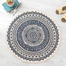 Alfombra tejida de algodón y lino, alfombra para suelo, tapiz para habitación, manta decorativa, sala de estar alfombra para, sofá clásico, alfombrilla para cojín