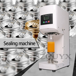 Commercial stainless steel Cans Cup sealing machine Sealer Store drink Intelligent automatic sealing machine