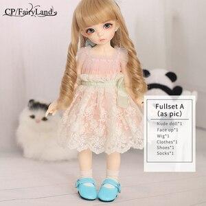 Image 5 - Livraison gratuite Fairyland Littlefee Ante BJD poupées costume ensemble complet YOSD 1/6 FL Napi Dollmore Luts plus doux Style multivariante