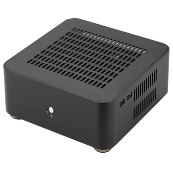 L80S Computer Cases Aluminum Chassis Desktop Mainframe with Usb 3.0 Port Hollow for Game Chassis Diy Mini Pc Itx Case