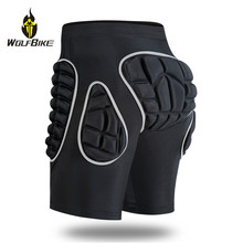 Wolfbike EVA Protection Pad Snowboarding Shorts Roller Hockey Butt Hip Protector Motorcycle MTB Bike Skateboard Ski