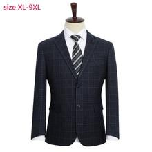 New Arrival Fashion Men Fashion Suit Jacket Super Large Men Loose Formal High Quality Plus Size XL 2XL3XL4XL 5XL 6XL 7XL 8XL 9XL