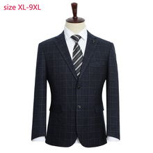 Nueva llegada de moda para hombre Chaqueta de traje de moda súper grande para hombre suelta Formal de alta calidad talla grande XL 2XL3XL4XL 5XL 6XL 7XL 8XL 9XL
