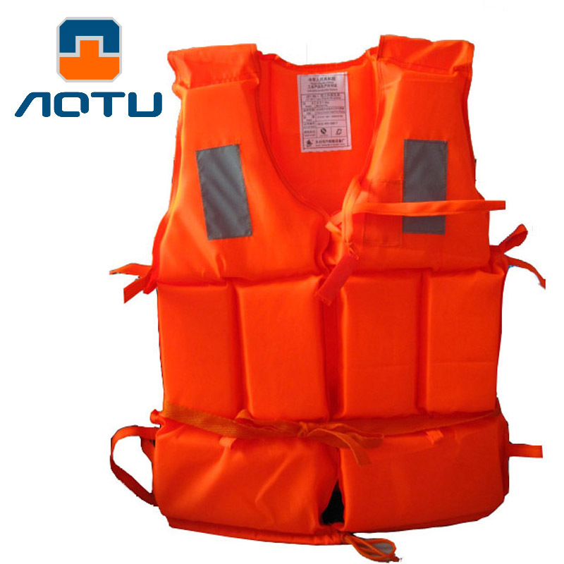 Bump Work Adult Form Lifejacket Swimsuit Life Vest With Rescuing Whistle AT9017