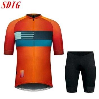SDIG-ropa de ciclismo para hombre, camiseta de manga corta, ligera, no profesional,...