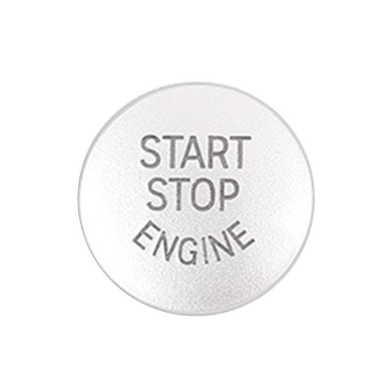 Interruptor de botão substituir capa elaborada fabricação prolongada durável chave decoração para bmw x1 x3 x5 carro parada partida do motor